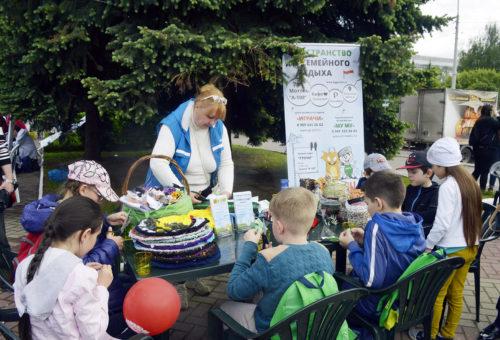 День детства и мороженого прошел в Обнинске при поддержке Центра «ИГрачи»